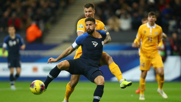 ฝรั่งเศส 2-1 มอลโดว่า