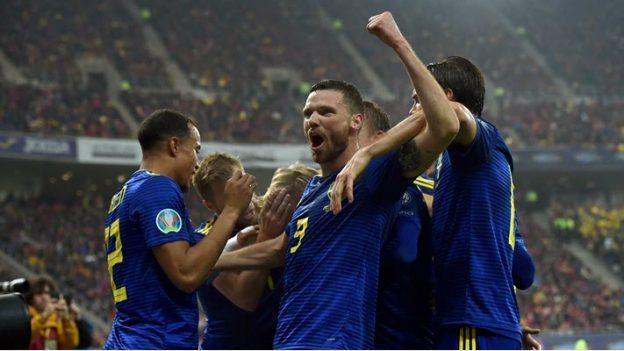 โรมาเนีย 0-2 สวีเดน