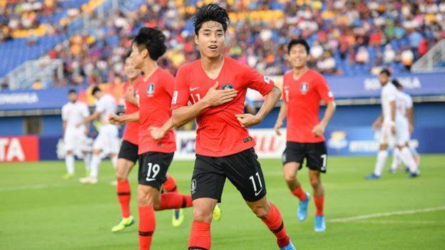 อุซเบกิสถาน 1-2 เกาหลีใต้