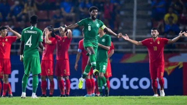 ทีมชาติไทย 0-1 ซาอุดิอาระเบีย