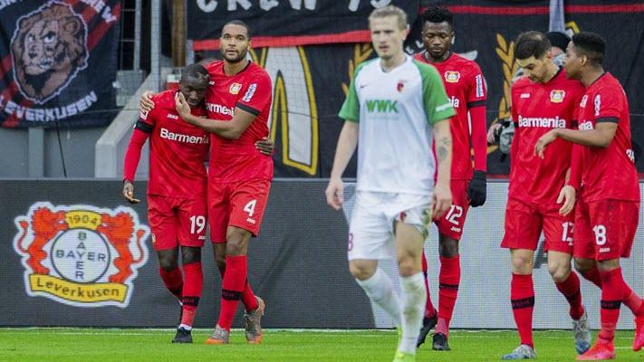 ไบเออร์ เลเวอร์คูเซ่น 2-0 เอาส์บวร์ก