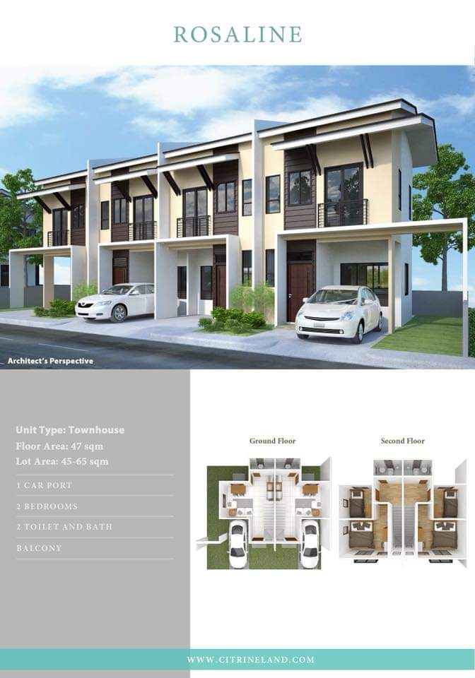 For Sale Townhouse In Serenis South Near Srp Filipino Homes