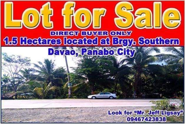 agricultural lot in panabo, davao del norte