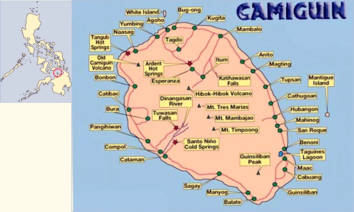 mambajao, camiguin titled lot 700 per sqm