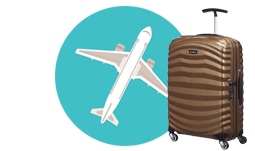 SCB Luggage and Miles Promo Icon