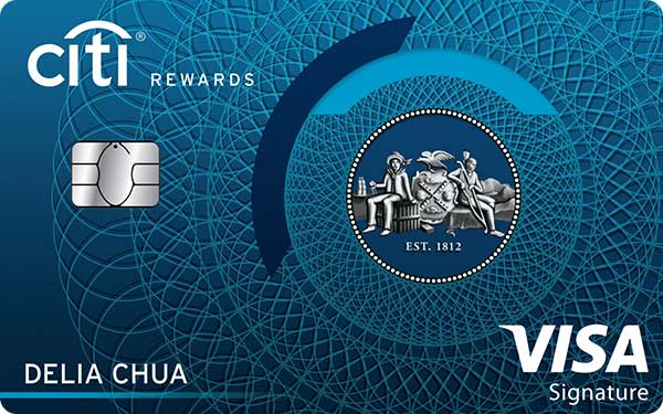 Citi Rewards Card (Visa)