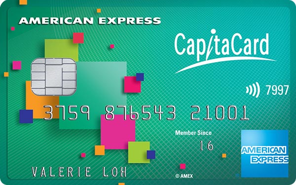 American Express CapitaCard Credit Card