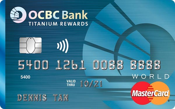 OCBC Titanium Rewards Credit Card (Blue)