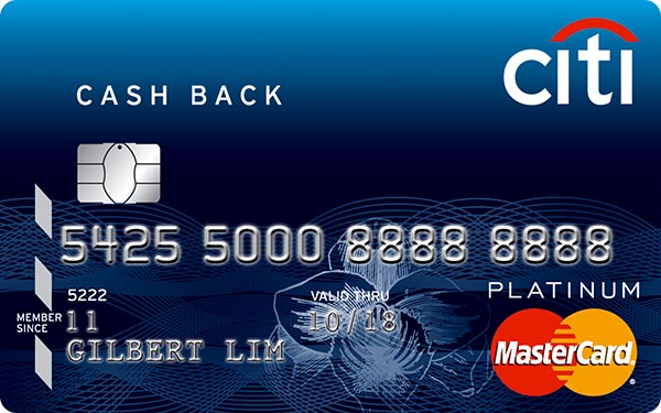 Citi Cash Back Card (Mastercard)