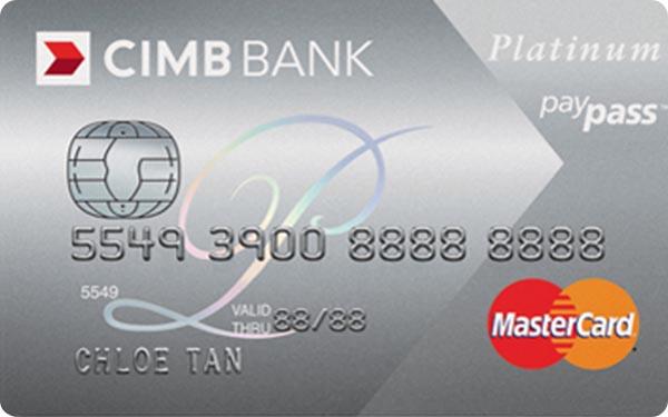 CIMB Platinum MasterCard Credit Card