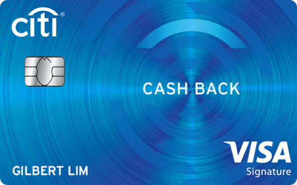 Citi Cash Back Card (Visa)