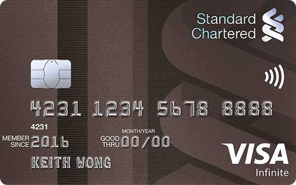 Standard Chartered Visa Infinite Credit Card