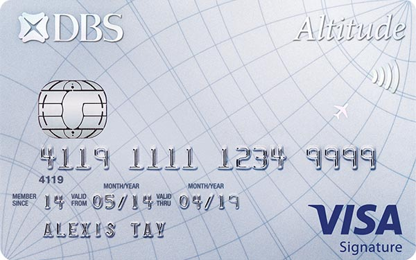 DBS Altitude Visa Signature Credit Card
