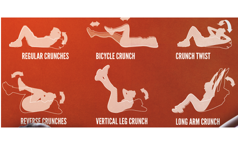 Crunch It Out for a Toned Stomach