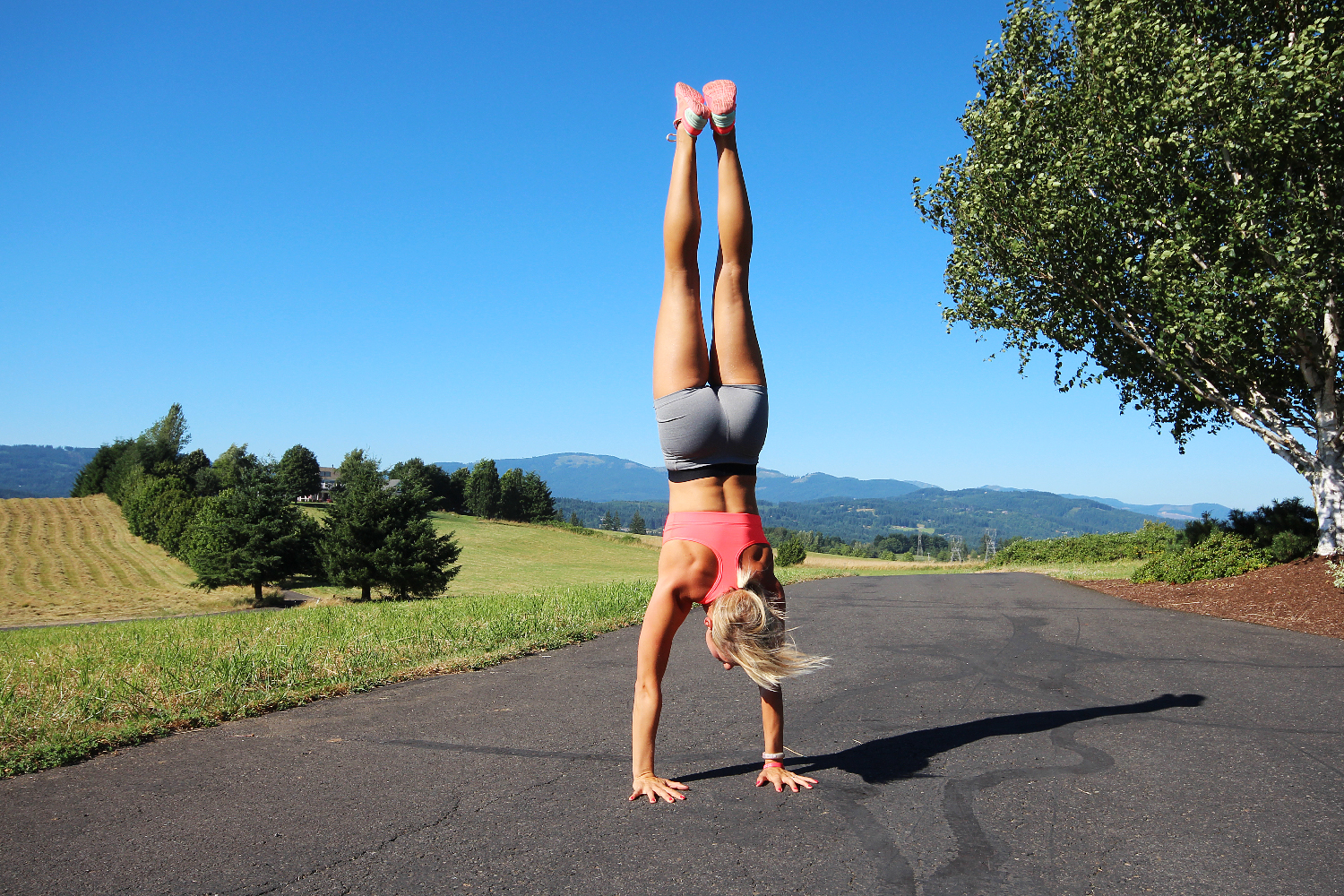Cartwheels and Handstands