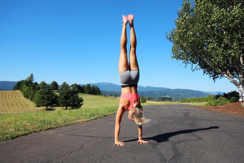 Cartwheels and Handstands