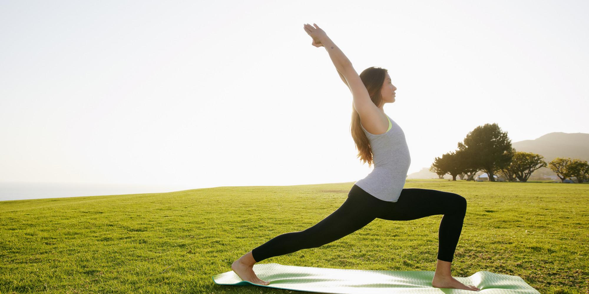 Try doing Yoga