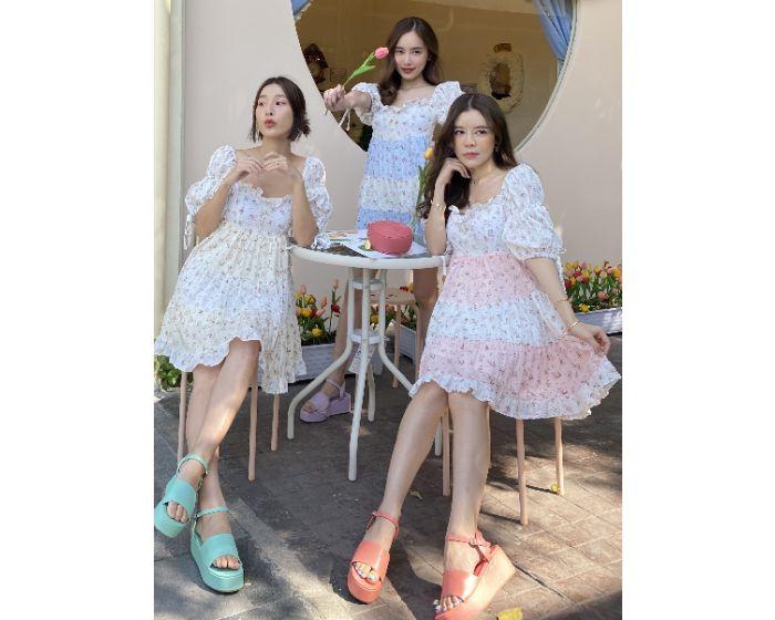 FT732 Cream Cheese Dress