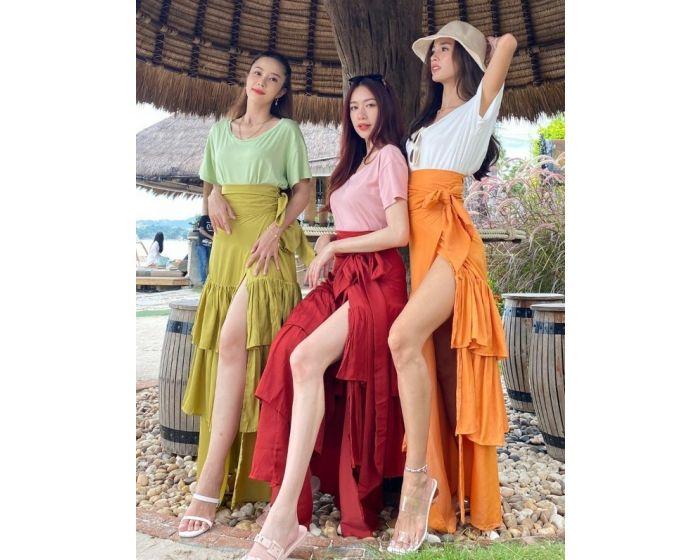 FT557 Island Maxi Skirt