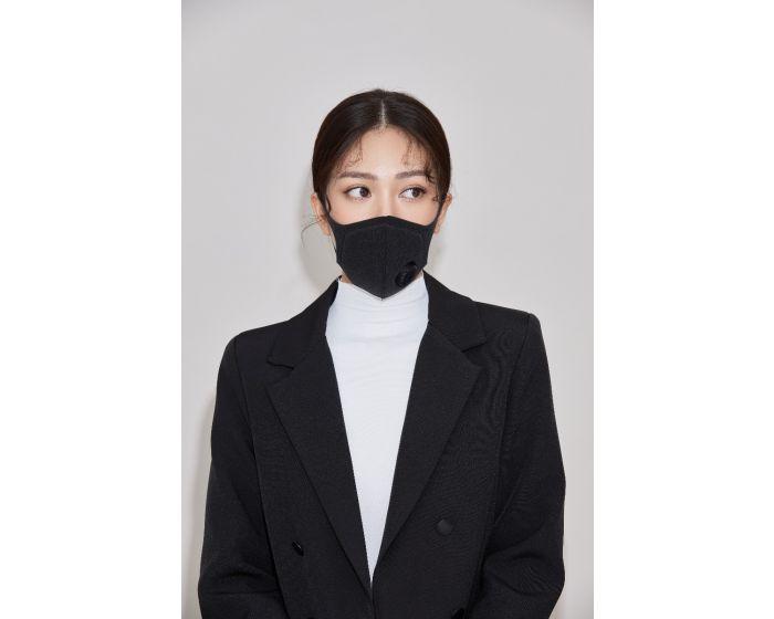 LS03 - Hygienic mask color(black/pink) 1 box