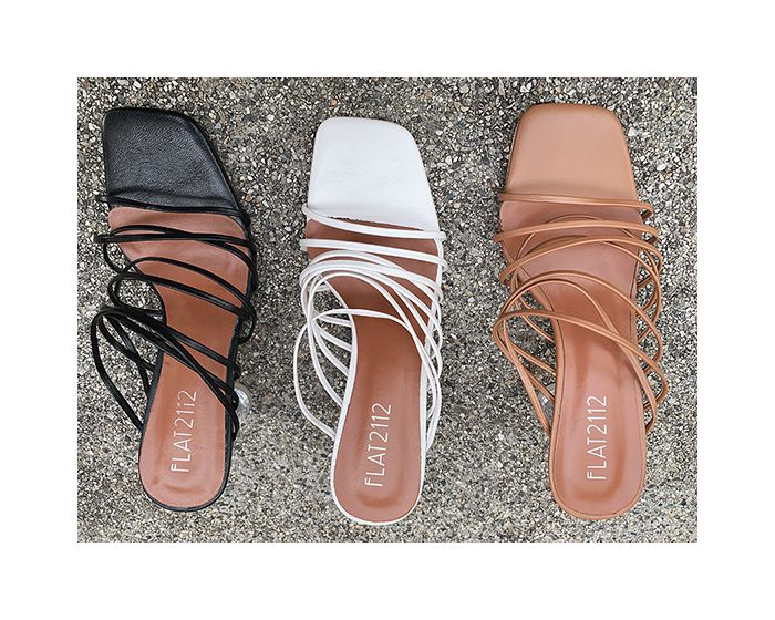 DEFECTED : HH37 - Gisele Strappy Mules