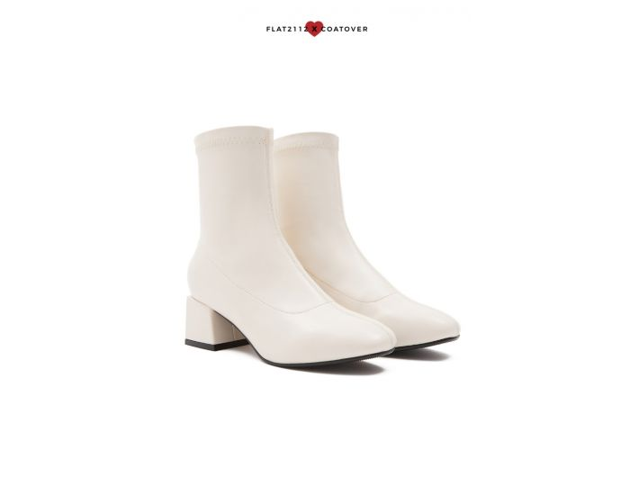 DEFECTED : FC001 Classic Mid Heel Ankle Boots