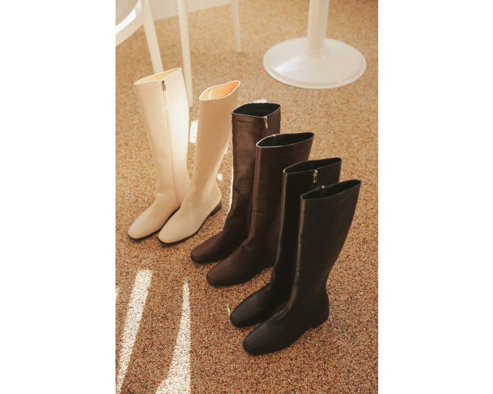 HH42  Timeless winter Knee-High Boots