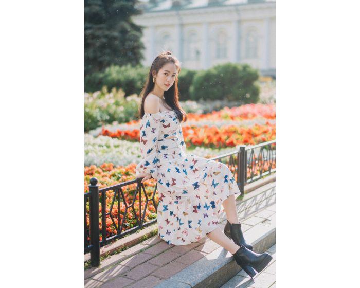 FT327 Alexander Garden Top & Skirt