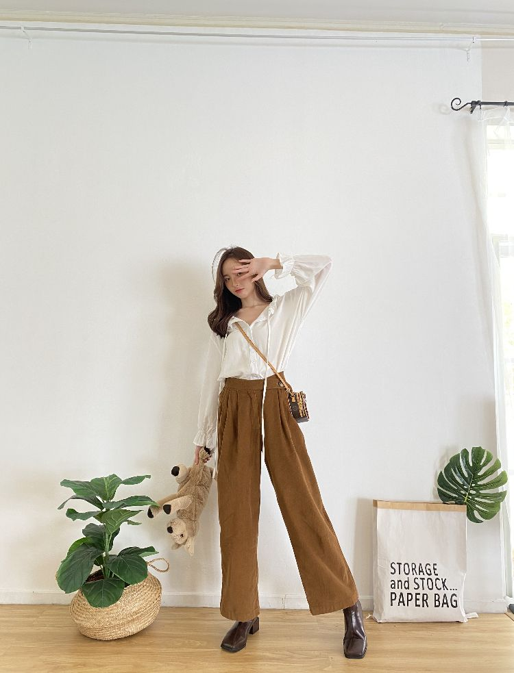 FT523 Coffee Club Pants