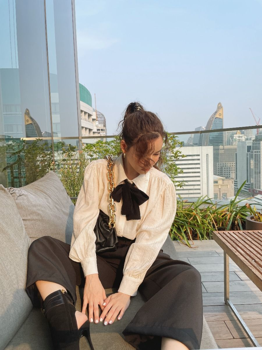 FW0007 - Peggy Shirt & Tie