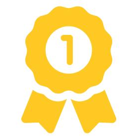 排行榜第1名徽章圖
