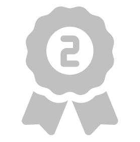 排行榜第2名徽章圖
