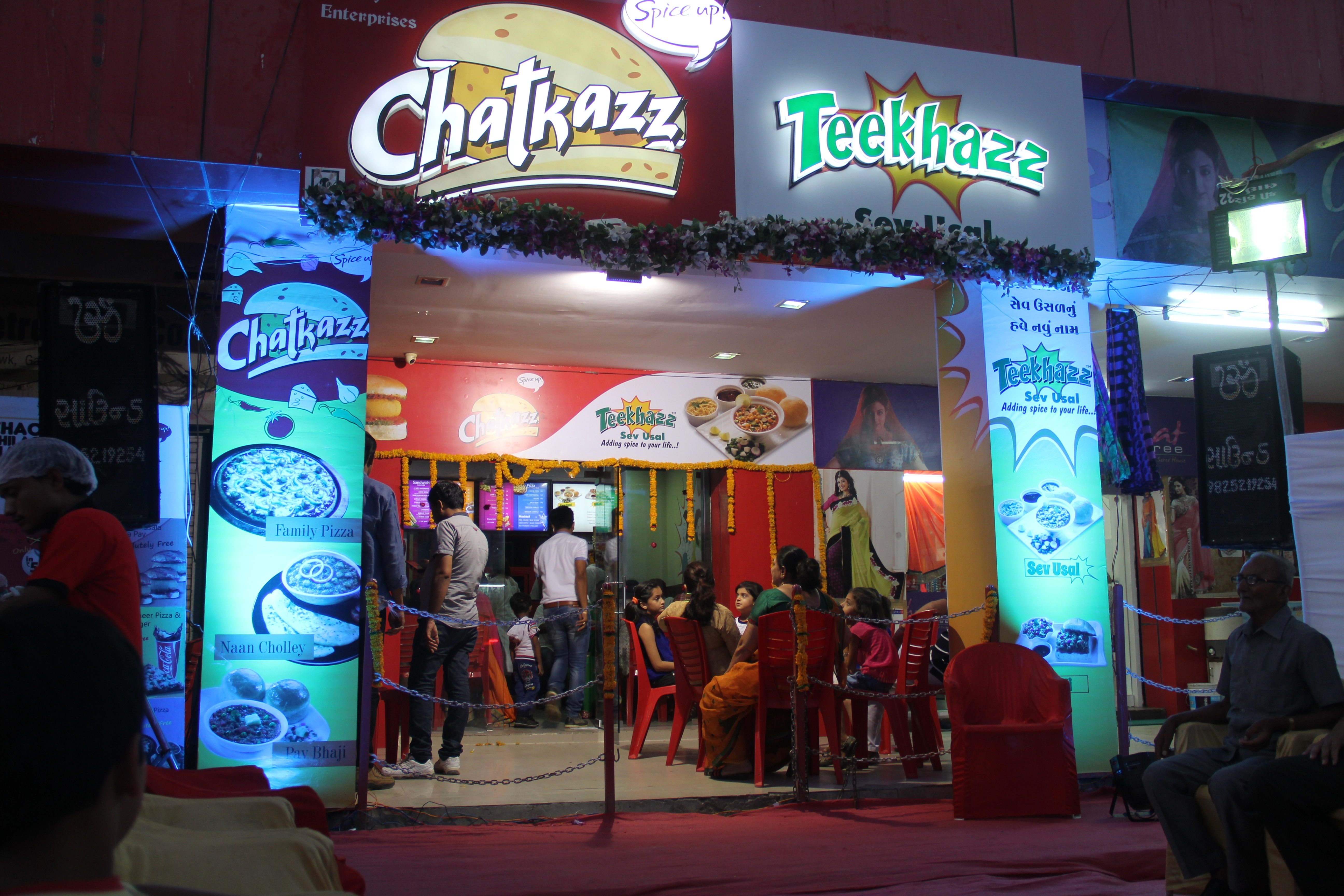 Now yr favorite Chatkazz and Teekhazz in Gandhidham