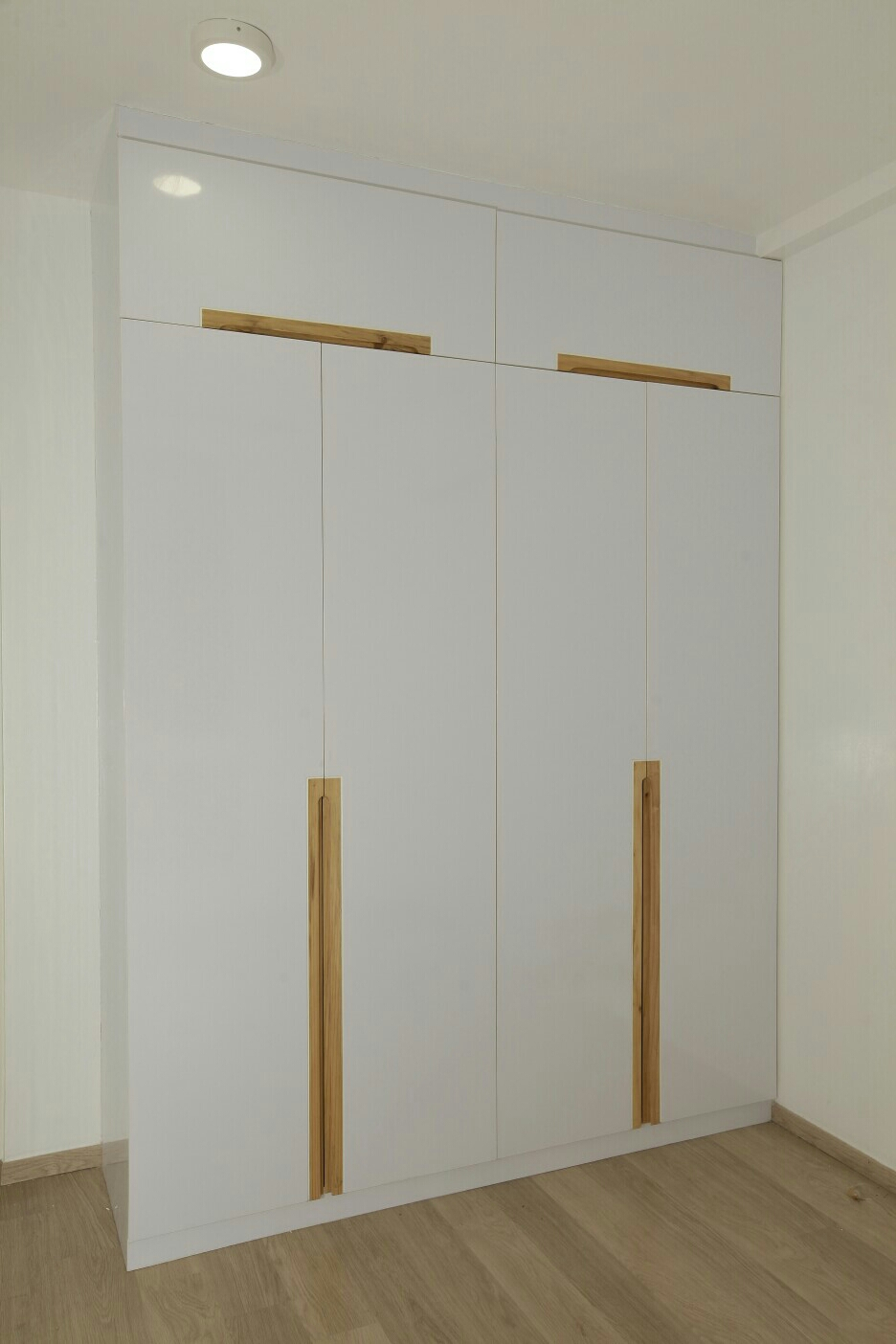 LOHGENDRA INTERIORS providing Concealed Wooden Handle Wardrobes at all over Tamilnadu and Chennai OMR