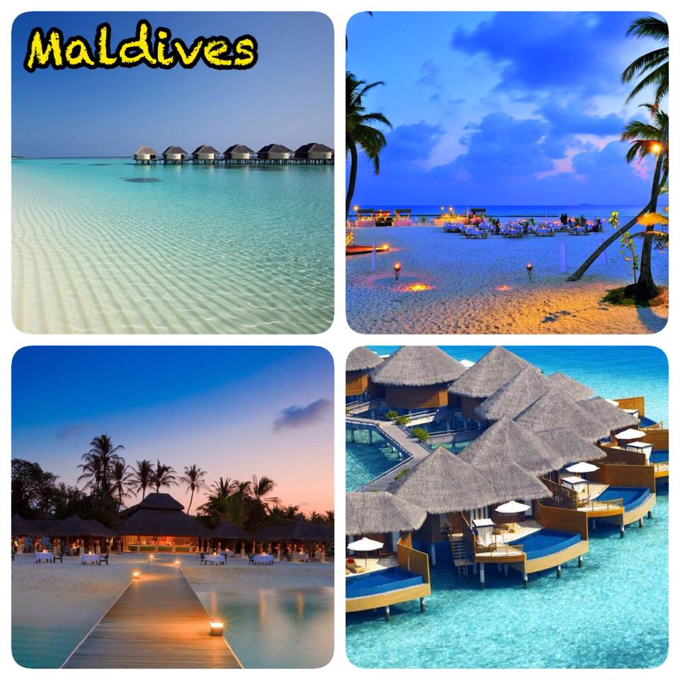 Maldives...Make your holidays memorable.A perfact honeymoon destination. For best deal contact QuickTime Travels