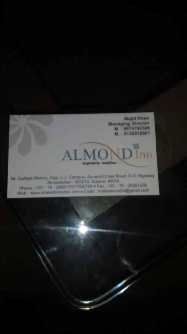 welcome to almond inn