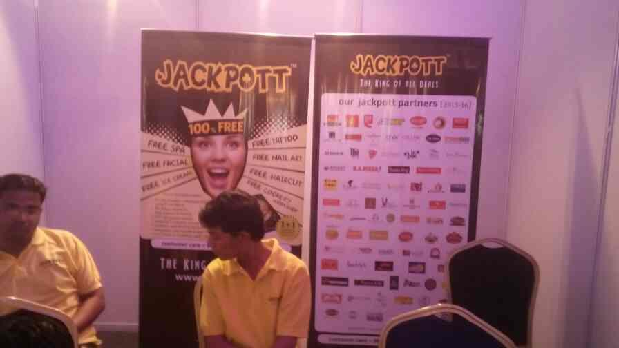 JACKPOTT is at emf ace. - by Jackpott, Ahmedabad