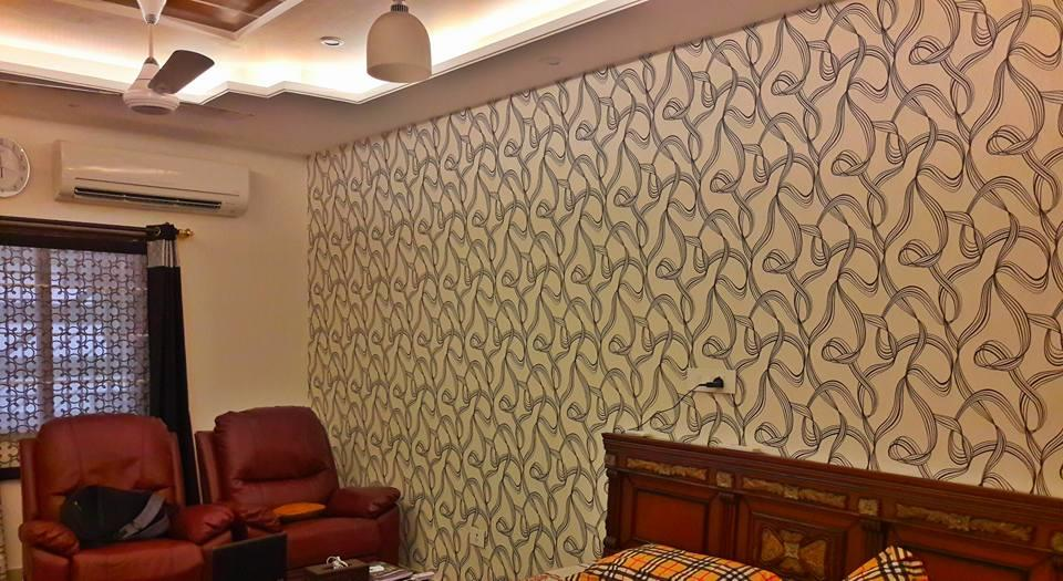Imported Wallpaper in chandigarh Wallpaper in kharar wallpaper in panchkula  - by Creative Decor, Chandigarh