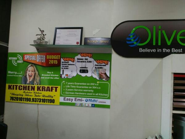Top Modular Kitchen Dealers-Olive in Nagpur - by Kitchen Kraft, Nagpur
