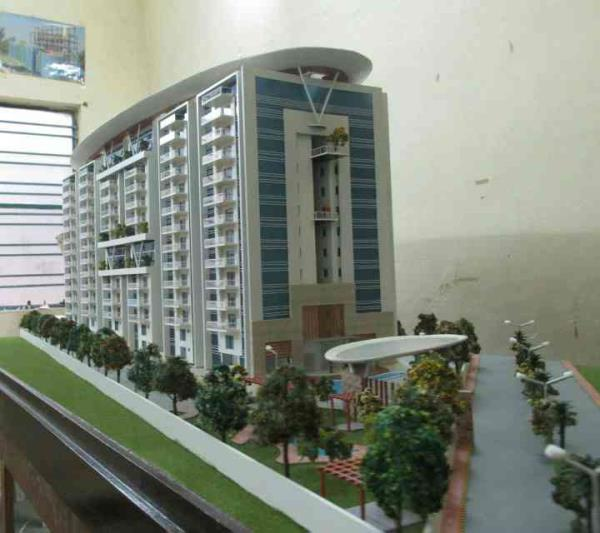 Architectural model of Apartment In Hyderabad   - by 3D Imagines, Hyderabad