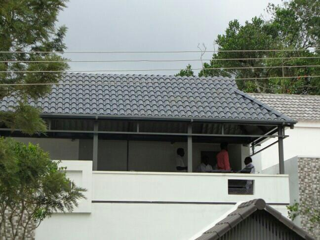 We are the best roofing contractors in salem - by Srs Colour roofing sheet, Salem