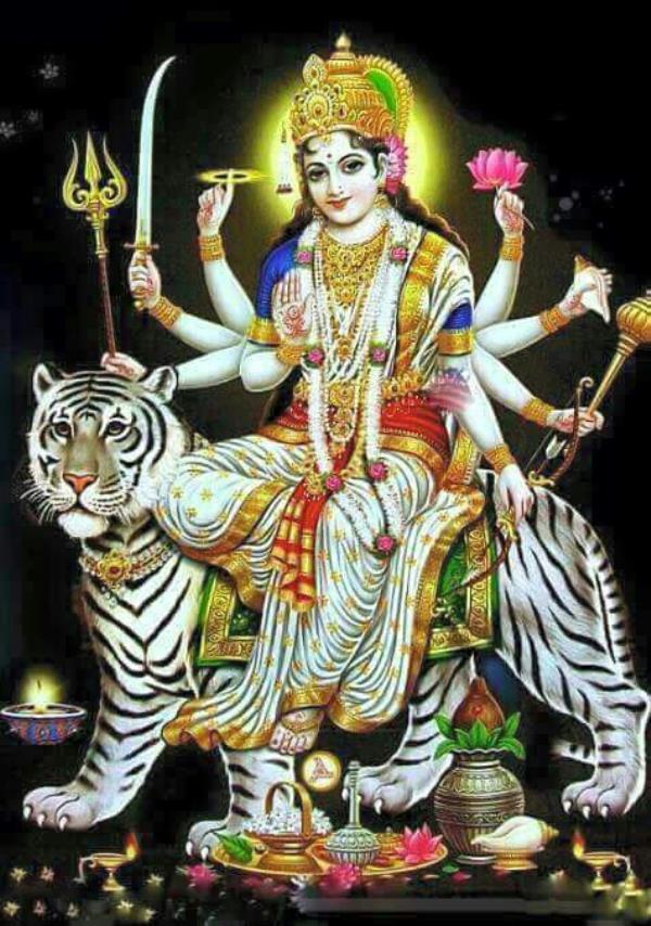 Happy Navratri #JayAmbeMaa - by Kishan Company, Morbi