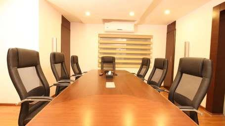 The fully equipped board room at the Best Western Jagadish in Jayanagar, Bangalore, is an ideal place for business and board meetings. It can comfortably accommodate up to 10 people. Board Rooms In Jayanagar. - by Best Western  Jagdish, Bangalore