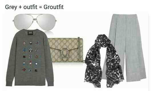 fashion in new terms grey + outfit gives groufit  #ishhitaimageconsultant   - by Personal Image Grooming Consultant, Delhi