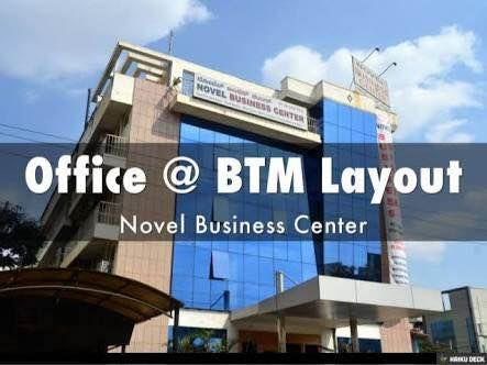 Office space at Btm  - by Novel Business Center, Bangalore Urban
