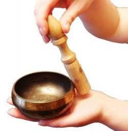 Singing bowl  - by Anantdev, New Delhi