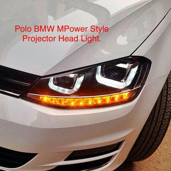 new model headlights bmw style for polo and vento at motominds