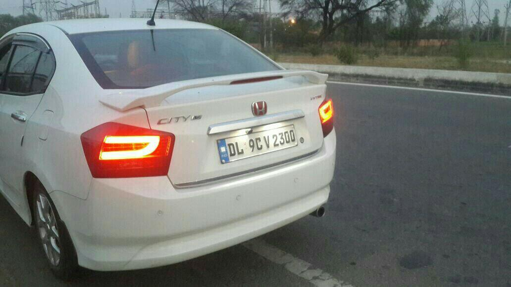 honda city ivtec fancy taillamps and mugen spoiler@motominds