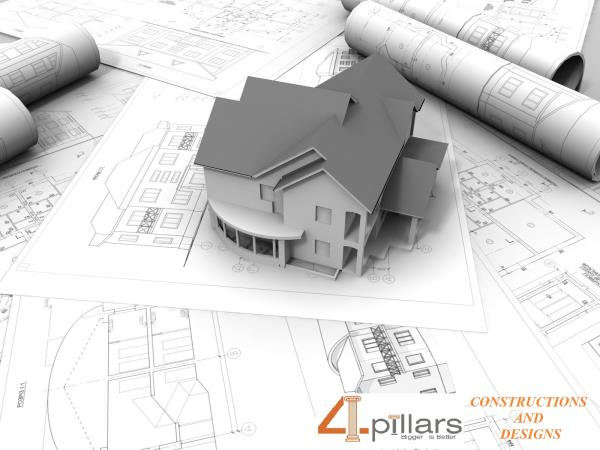 We Are The Best Building Contractors and Building Construcions And Designs in T-Nagar Chennai  - by 4 Pillars Constructions & Designs, Chennai