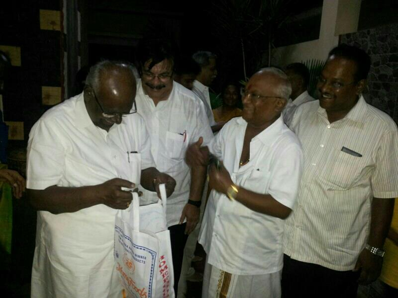 Mr.solmanpapiyya with home foods products - by HOME FOODS, Salem